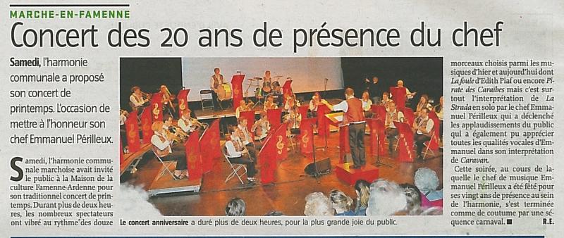 070513 avenir - Harmonie communale - Concert des 20 ans