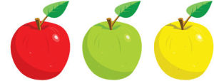 http://www.dreamstime.com/stock-image-three-apples-leaf-image8439841