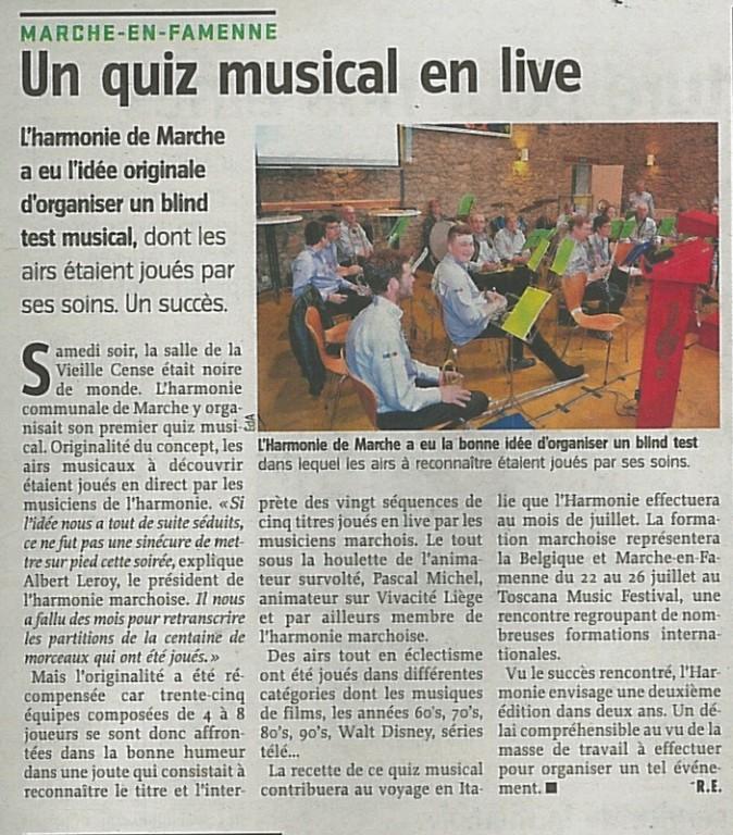 020615 avenir - Quiz musical