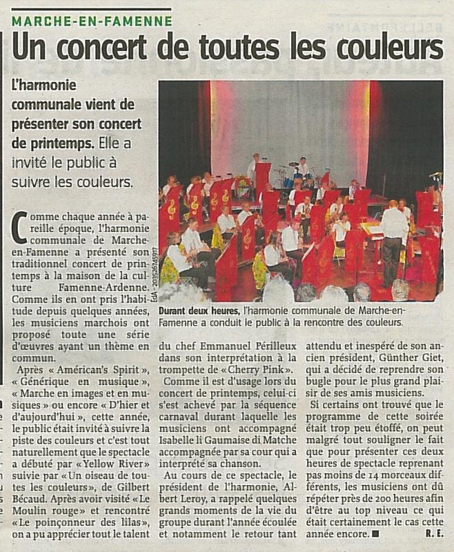 130514 concert automne avenir - Harmonie communale